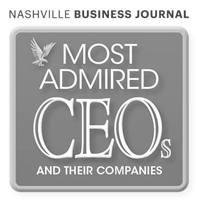 Nashville Business Journal Most Admired CEOs and their companies